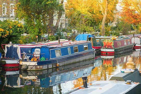 Image of London Canal Boat