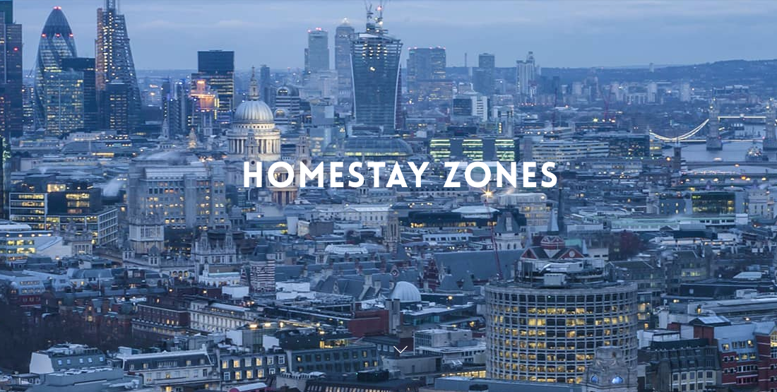 Image of London Homestay Zones