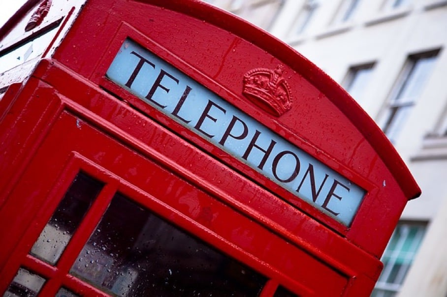 Image of London Telephone Box