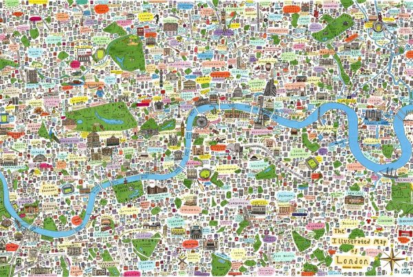 London Towns Map