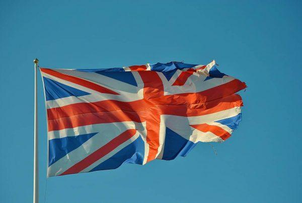 image of a british flag