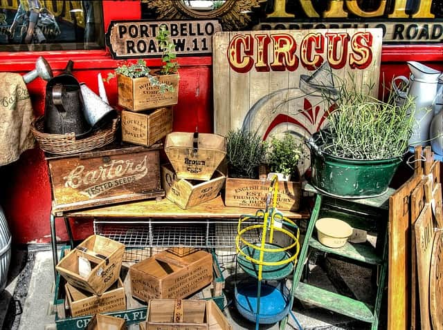 Discover London's Portobello Market in Notting Hill