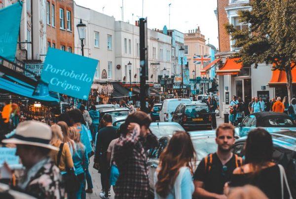 london street and portobello crepes