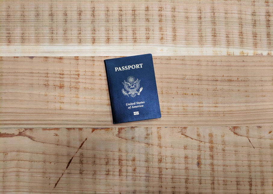 Passport Travel Wooden