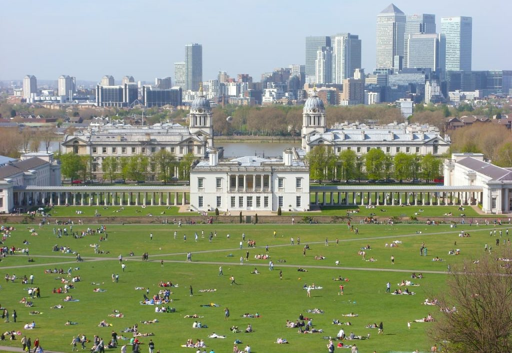 greenwich park in London
