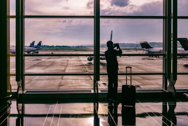 Window Airport Airplane