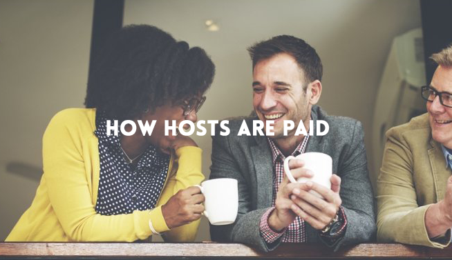 homestay how hosts are paid