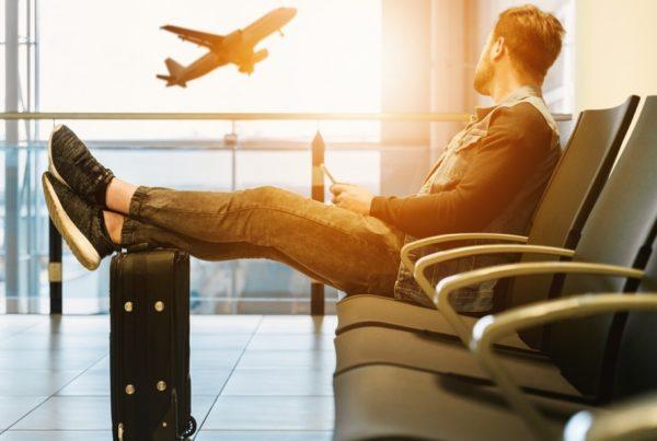 Plane Man luggage