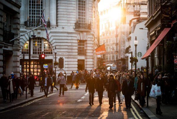 london crowd street