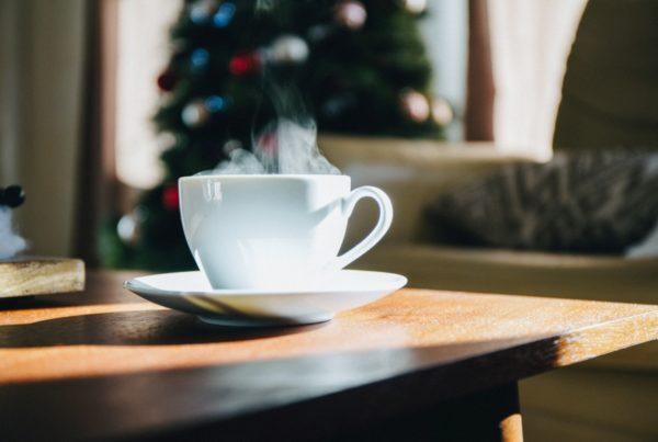 a warm cuppa